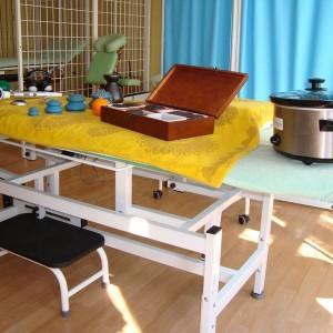 pracownia, przyrządy do masażu i rehabilitacji